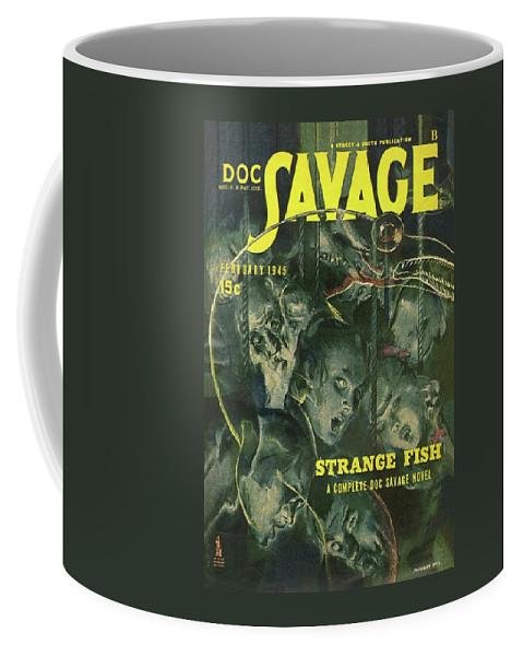 3e572714 Doc Savage Strange Fish Coffee Mug for Sale by Conde Nast