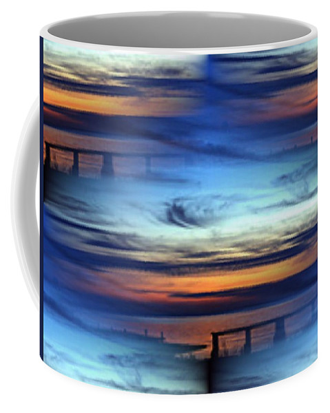 Dock Coffee Mug featuring the photograph Dock Of The Bay by Tim Allen