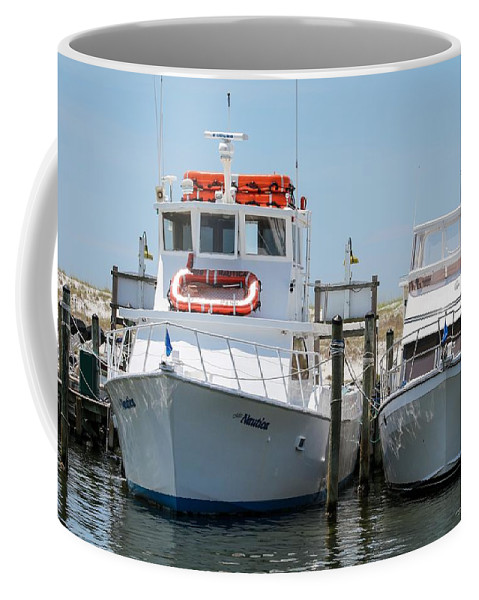 Destin Coffee Mug featuring the photograph Docked by Gary Oliver