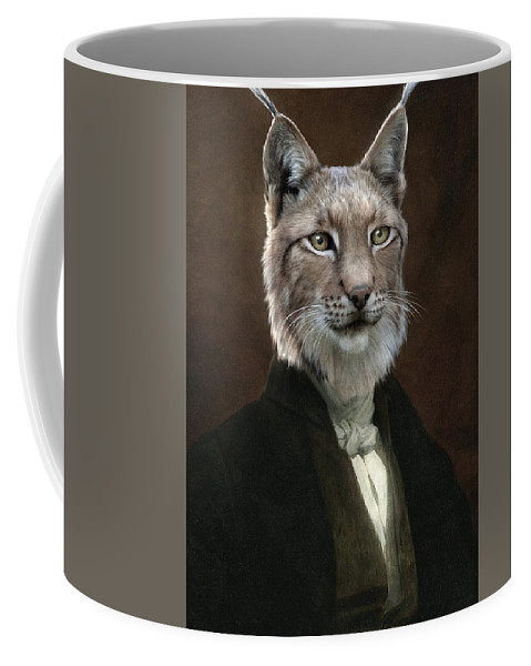 Portrait Coffee Mug featuring the painting Doctor Cronus by Matt Van Gorkom