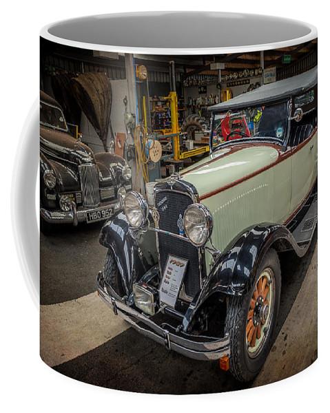 Dodge Coffee Mug featuring the photograph Dodge Da Tourer by Adrian Evans
