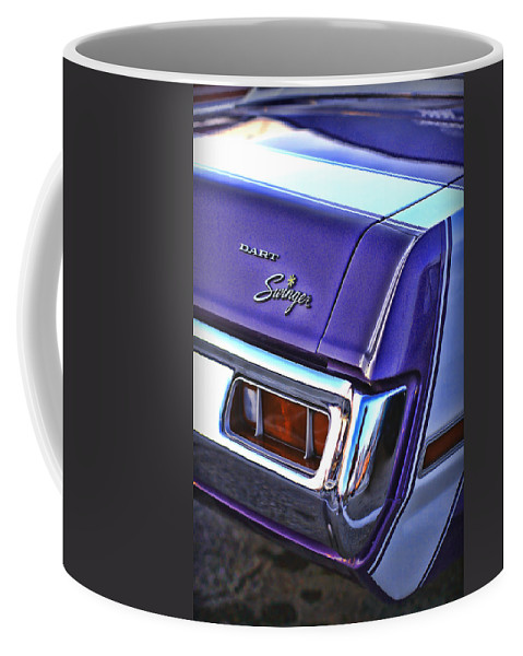 Dodge Coffee Mug featuring the photograph Dodge Dart Swinger by Gordon Dean II