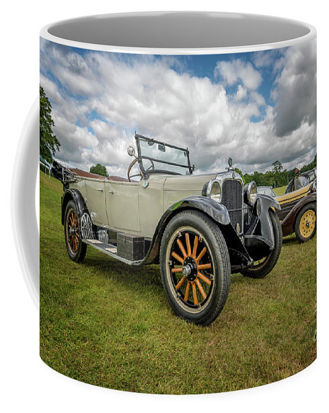 American Coffee Mug featuring the photograph Dodge Four Tourer by Adrian Evans