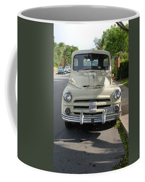 Truck Coffee Mug featuring the photograph Dodge by Rob Hans