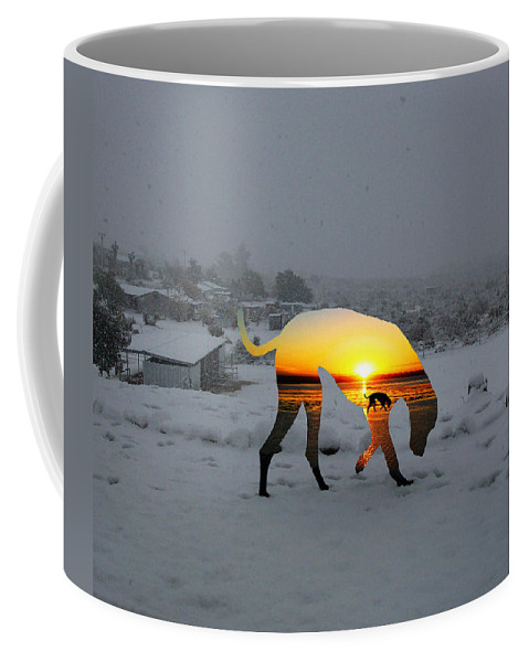 Landscape Coffee Mug featuring the photograph Dog Day Afternoon by Snake Jagger