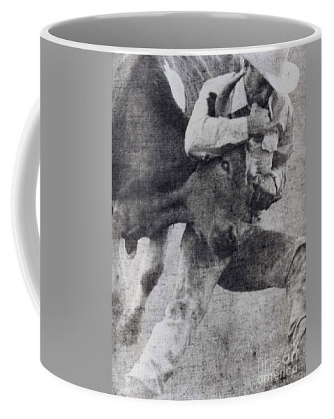 California Scenes Coffee Mug featuring the photograph Doggin It by Norman Andrus