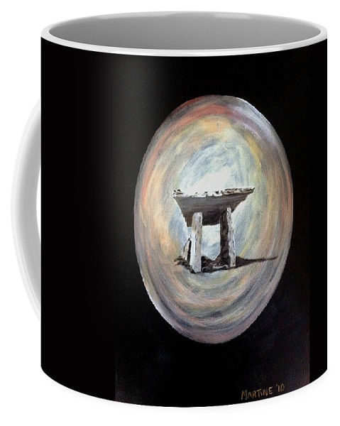 Dolman Coffee Mug featuring the painting Dolman by Martine Murphy