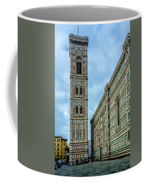 Cathedral Coffee Mug featuring the photograph Dom Of Florence by Wolfgang Stocker