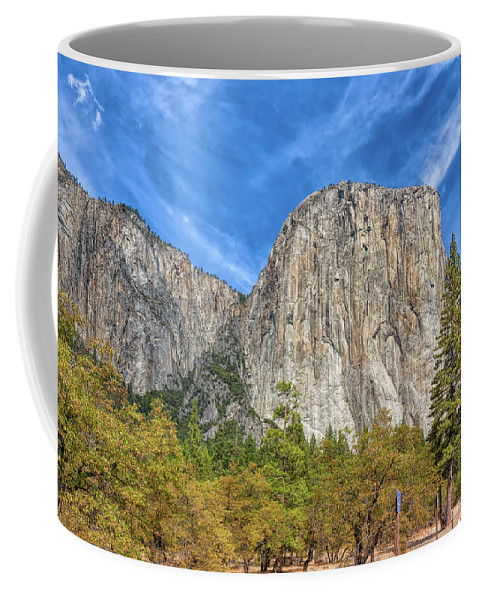 Landscape Coffee Mug featuring the photograph Dominating Presence by John M Bailey