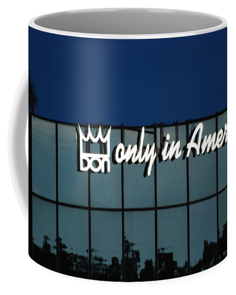 King Coffee Mug featuring the photograph Don King Only In America by Rob Hans