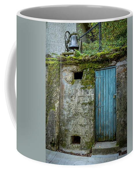 Old Coffee Mug featuring the photograph Doorbell by Shawn Einerson
