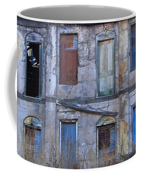 Doors Coffee Mug featuring the photograph Doors And Windows by Randy Bayne