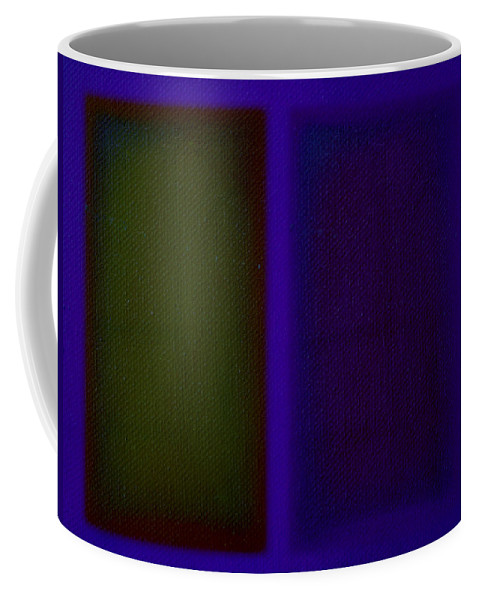 Rothko Coffee Mug featuring the painting Doors Of Perception by Charles Stuart