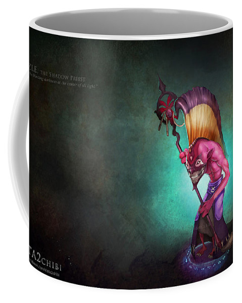Dota 2 Coffee Mug featuring the digital art Dota 2 by Zia Low