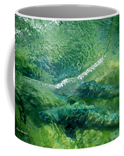 Water Coffee Mug featuring the photograph Double Trouble by Donna Blackhall