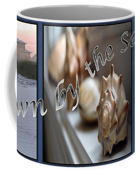 Shells Coffee Mug featuring the digital art Down By The Seashore by Robert Meanor