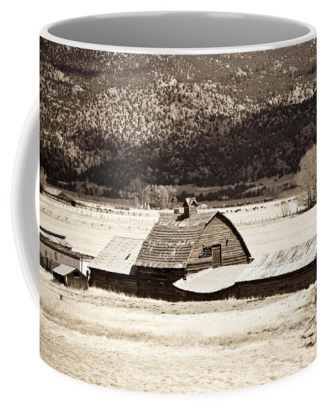 Americana Coffee Mug featuring the photograph Down On The Farm by Marilyn Hunt