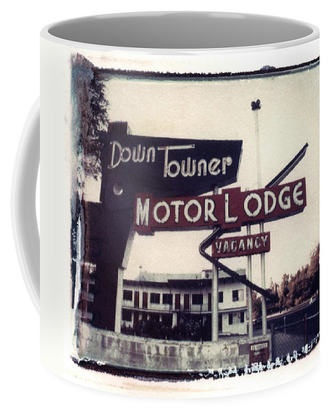 Landscape Coffee Mug featuring the photograph Down Towner by Jane Linders