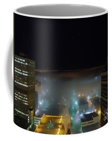 Photograph Coffee Mug featuring the photograph downtown Calgary2 by Seon-Jeong Kim