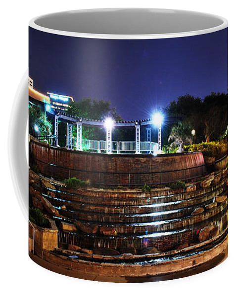Downtown Coffee Mug featuring the photograph Downtown Shreveport by Sherry Fain
