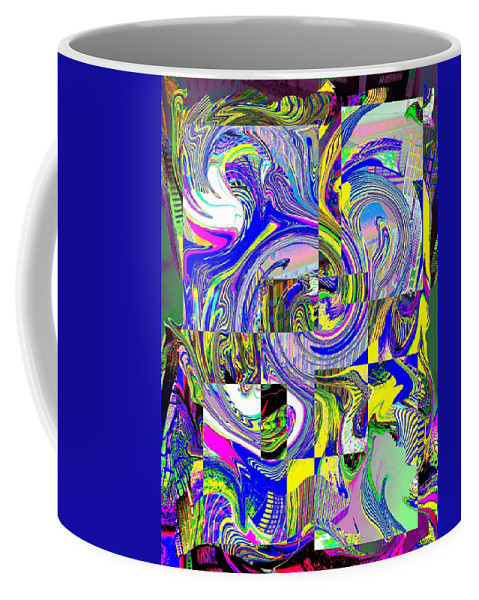 Abstract Coffee Mug featuring the photograph Downtown Tango by Tim Allen
