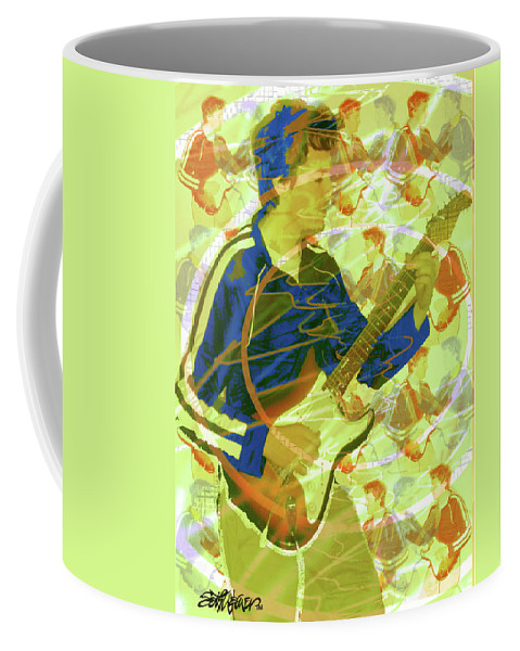 Dr. Guitar Coffee Mug featuring the photograph Dr. Guitar by Seth Weaver