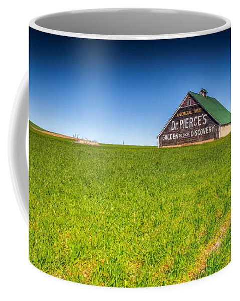 Country Coffee Mug featuring the photograph Dr. Pierce's Barn by Spencer McDonald