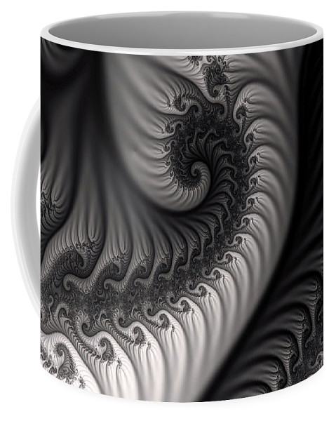 Clay Coffee Mug featuring the digital art Dragon Belly by Clayton Bruster