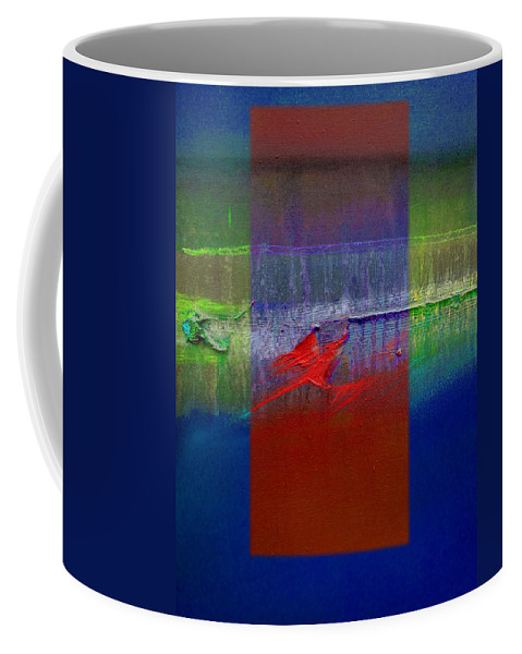 Landscape Coffee Mug featuring the painting Dragon Coast by Charles Stuart