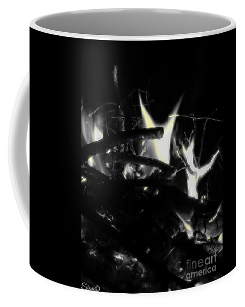 Black Coffee Mug featuring the photograph Drained by September Stone