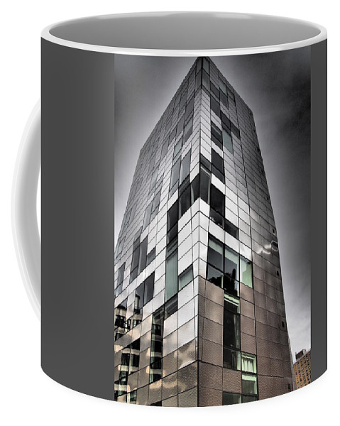 New York City Coffee Mug featuring the photograph Drama In The City 4 by Dorothy Lee