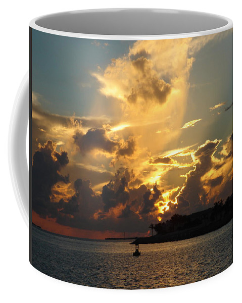 Photography Coffee Mug featuring the photograph Dramatic Clouds by Susanne Van Hulst