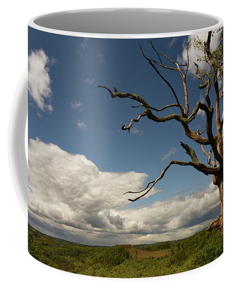 Lehigh Coffee Mug featuring the photograph Dramatic Overlook by Jennifer Ancker