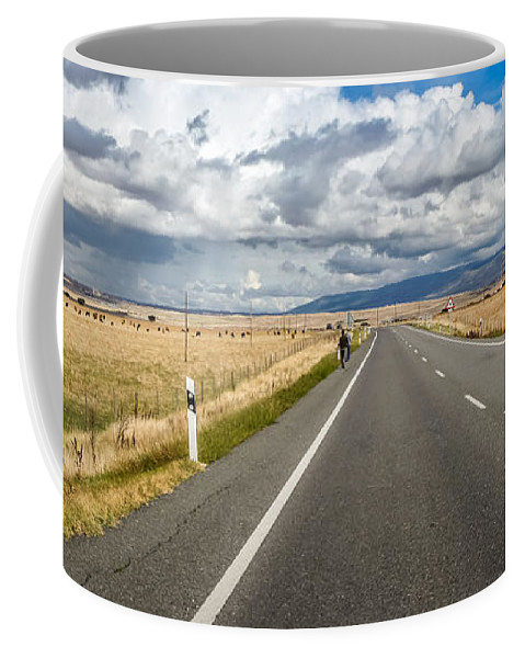 Agricultural Coffee Mug featuring the photograph Dramatic Road To Segovia by JR Photography