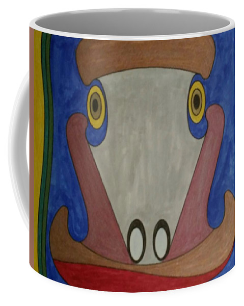 Geometric Art Coffee Mug featuring the glass art Dream 147 by S S-ray
