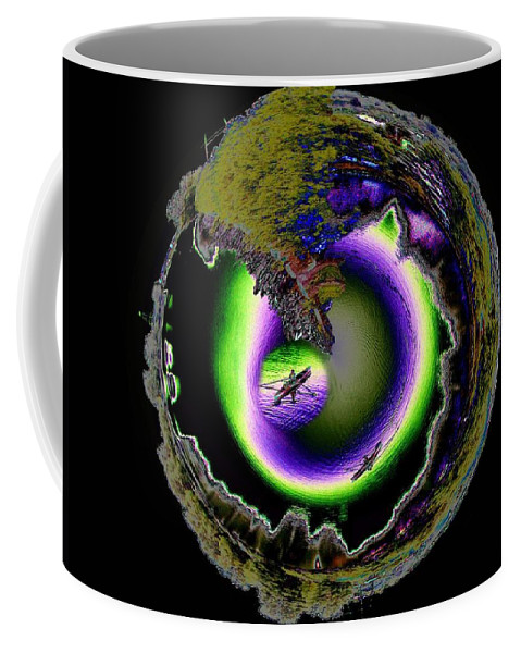 Kayaks Coffee Mug featuring the photograph Dream Kayaking by Tim Allen