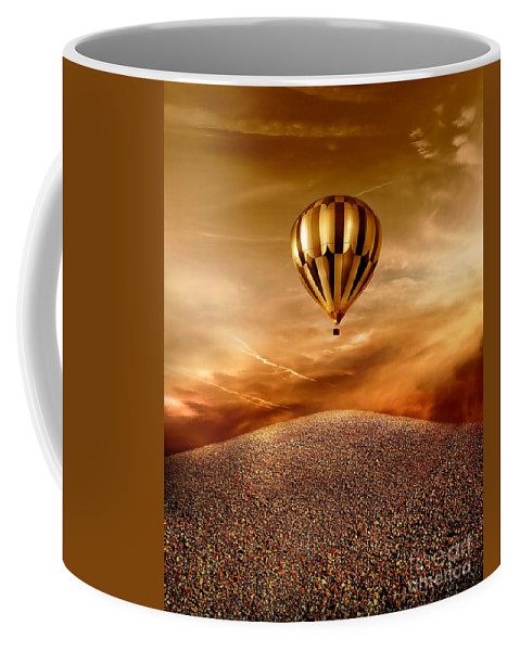 Golden Coffee Mug featuring the photograph Dream by Jacky Gerritsen
