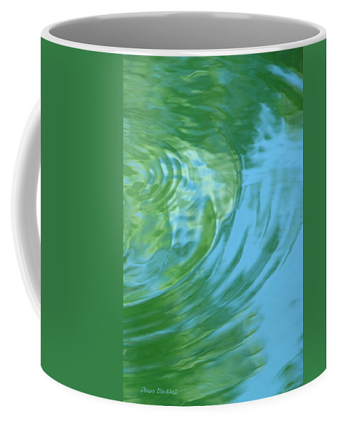 Water Coffee Mug featuring the photograph Dream Pool by Donna Blackhall