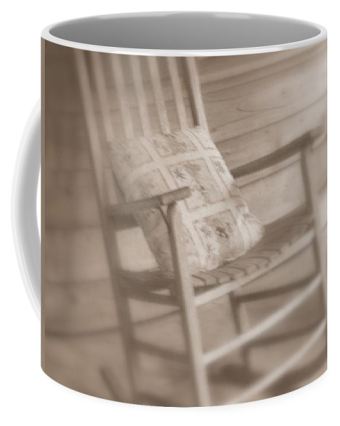 Chair Coffee Mug featuring the photograph Dream Time by Susanne Van Hulst
