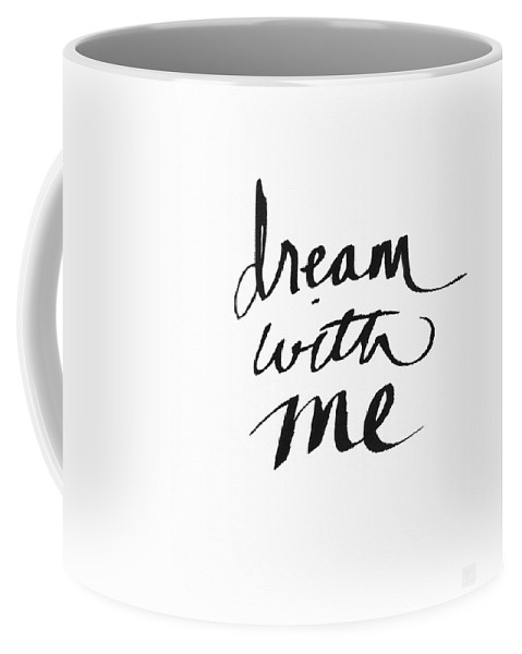 Dream Coffee Mug featuring the painting Dream With Me- Art by Linda Woods by Linda Woods