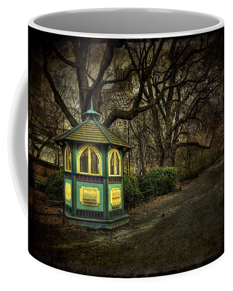 Central Park Coffee Mug featuring the photograph Dreamcatcher by Evelina Kremsdorf