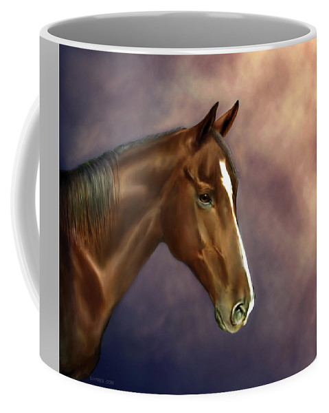 Bhymer Coffee Mug featuring the painting Dreamer by Barbara Hymer