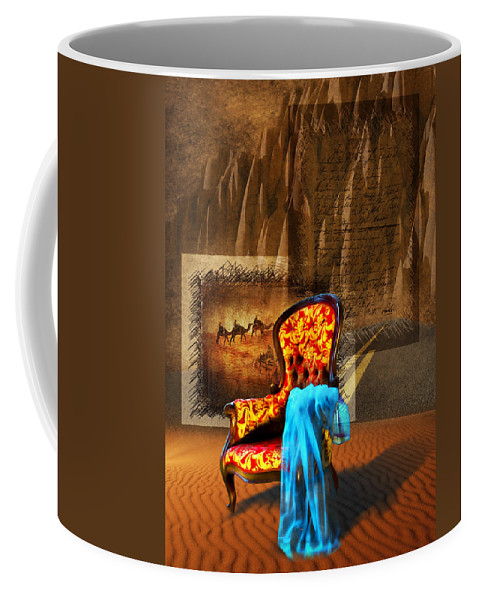 Dream Coffee Mug featuring the photograph Dreaming Chair by Svetlana Sewell