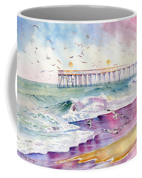 Dreams Coffee Mug featuring the painting Dreams And Memories by Melly Terpening