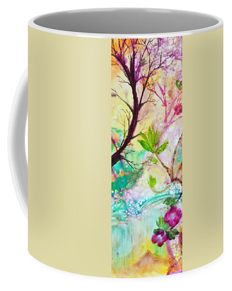 Pastel Coffee Mug featuring the painting Dreams Coming True Like Magic by Ashleigh Dyan Bayer