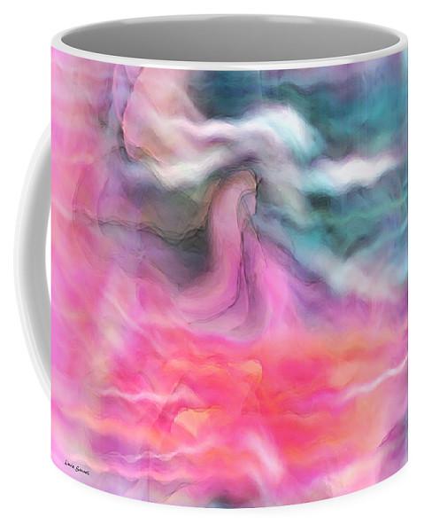 Spiritual Art Coffee Mug featuring the digital art Dreamscapes by Linda Sannuti
