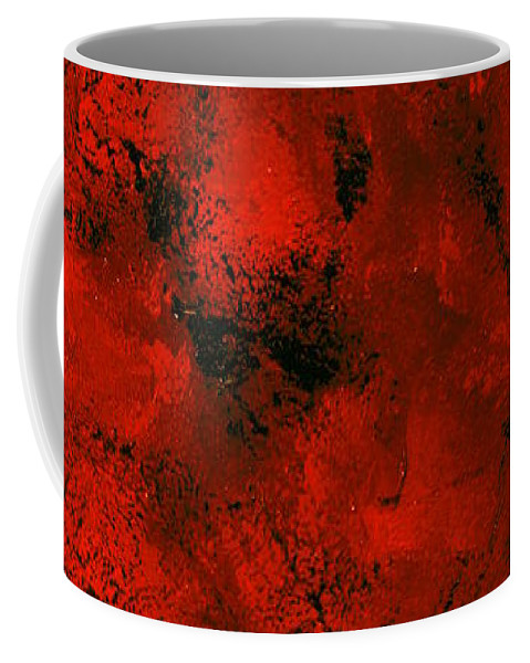 Australia Coffee Mug featuring the painting Dreamtime1.0 by Giro Tavitian