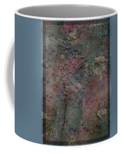 Pastels Coffee Mug featuring the mixed media Dreamy Blue by Freya Waters