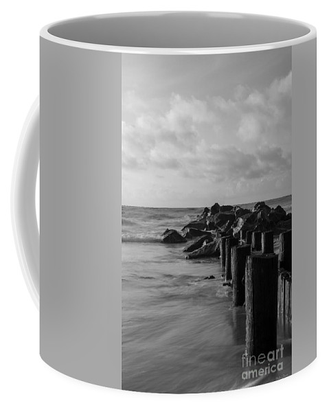 America Coffee Mug featuring the photograph Dreamy Jettie Grayscale by Jennifer White