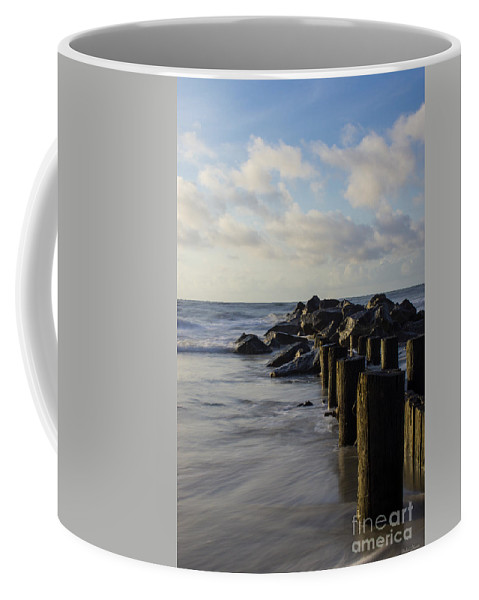 America Coffee Mug featuring the photograph Dreamy Jettie by Jennifer White